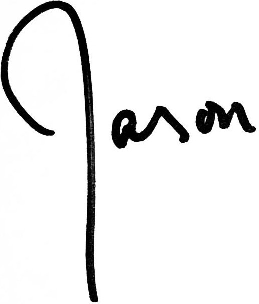 Jason Harris' signature